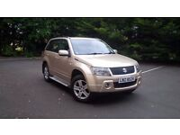 Suzuki grand vitara, new engine , turbo , battery , mot august 2017.