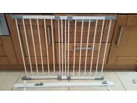 Extendable Child Stair Gate & Wall Panel