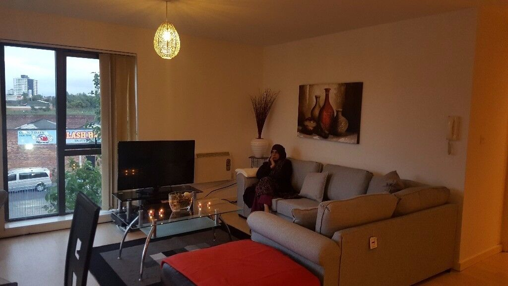 Immaculate fully furnished 1 bed apartment for rent