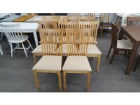 6x Julian Bowen Ibsen Dining Chairs Can Deliver