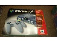 Boxed Nintendo 64 N64