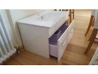 Brand new bathroom sink unit.