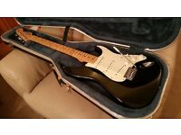 Fender Standard Stratocaster and hard case