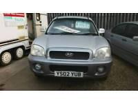 2002 Hyundai Santa fe 4x4 petrol lwb