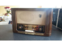 Vintage Grundig 2043 Valve Radio 3D Sound Serviced Full Working Order £120 OVNO