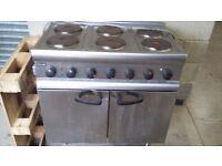 Lincat 6 hob cooker oven