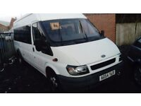 2004 54 FORD TRANSIT 17 SEATER MINIBUS GOOD CLEAN EXAMPLE 1 OWNER FROM NEW £1795