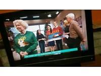 "26"" GOODMANS TV HDMI FREE VIEW no remote control"
