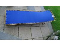 Folding Bed for Camping or Sun Worshipping