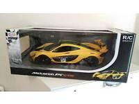 Rastar McLaren P1 GTR 1:14 yellow