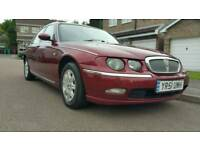2001 ROVER 75 CLUB CDT 12 MONTHS MOT NO ADVISORIES +SERVICE HISTORY