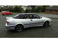 2000 saab 93 se convertible....0nly 65.000 miles...lovely condition