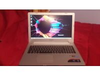 Lenovo Z51-70 1080P Gaming Laptop, i5 5200U , 8GB RAM, R7 M360, RRP £800, Very Good Condition