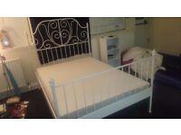 Standard double mattress firm ikea
