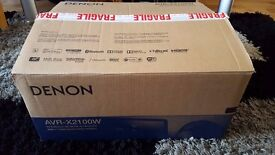 DENON AVR-X2000W Amplifier 7.2 - Like New - Boxed