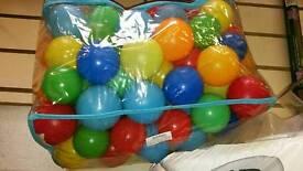 Children's plastic balls
