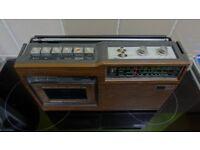 National Panasonic Vintage Retro Radio Cassette