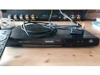 Phillips dvd player hardley beem used