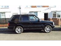 range rover p38 1996 4.6 hse auto 4x4 long test nice condition possible px or swap