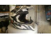Motocross helmet size xl