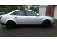 AUDI A4 130HP,LEATHER WORM SEAT, 12MONTHS MOT, SERVICE HISTORY, CHEAP ON FUEL TAX, TIDY £995 ONO