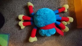 WOOLY TOY SPIDER
