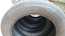 Winter Tyres - Very Good Condition. 205/55 R16.