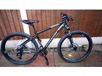 rockrider 520 mountain bike disc brakes 27.5 wheels