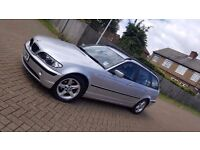 2002 (52) BMW 3 SERIES E46 318i SE 5DR TOURING ESTATE 2.0L PETROL AUTOMATIC ONLY 78K MOT FEB 2017