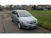 2011 Vauxhall Zafira 1.6 Petrol 7 SEATER, NEW MOT, JUST SERVICED, IMMACULATE INSIDE AND OUT