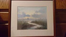 Scenic landscape print