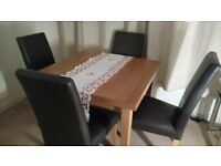 DINING TABLE & CHAIRS (John Lewis)