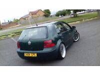 Vw golf 1.6 automatic lowered 18bbs alloys long mot hpi clear px welcome