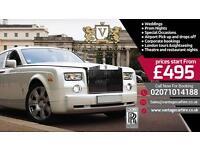 Rolls Royce Phantom Bentley Mercedes Range Rover Hire - Wedding Car Hire - Chauffeur Car Hire Prom