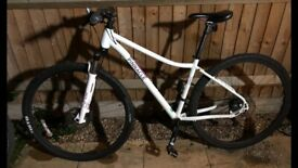 Ladies Pinnacle cobalt Hybrid bike