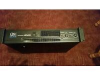 Qsc power professional amp