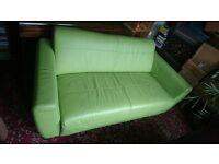 x 1 Green sofa