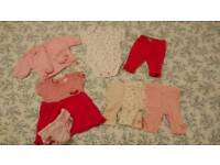 Baby girl bundle up to 3m