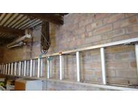 Extending Aluminium Ladders.