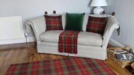 Laura Ashley Mulholland Rug, Cushions and Throw