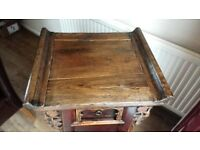 Antique Chinese dressing table