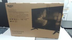 New graded bush smart led 32in tv with 12 month warranty