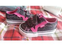 Black vans toddler size 3.5