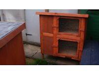 rabbit or ferret hutch