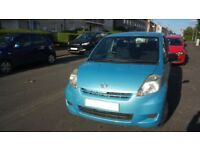 Daihatsu Sirion (New battery fitted,£30 Rd Tax Per Year)