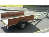 Trailer - converted for canadian canoe