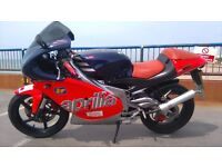Aprilia RS 125 Learner legal.