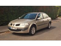 Renault Megane 2007. Automatic, Saloon. **Priced to sell**