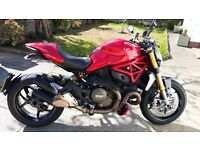 Ducati Monster 1200S (higher spec S model) 145 BHP Ohlins Brembo Just Serviced