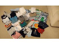 Baby boys clothes bundle Newborn - 9 months